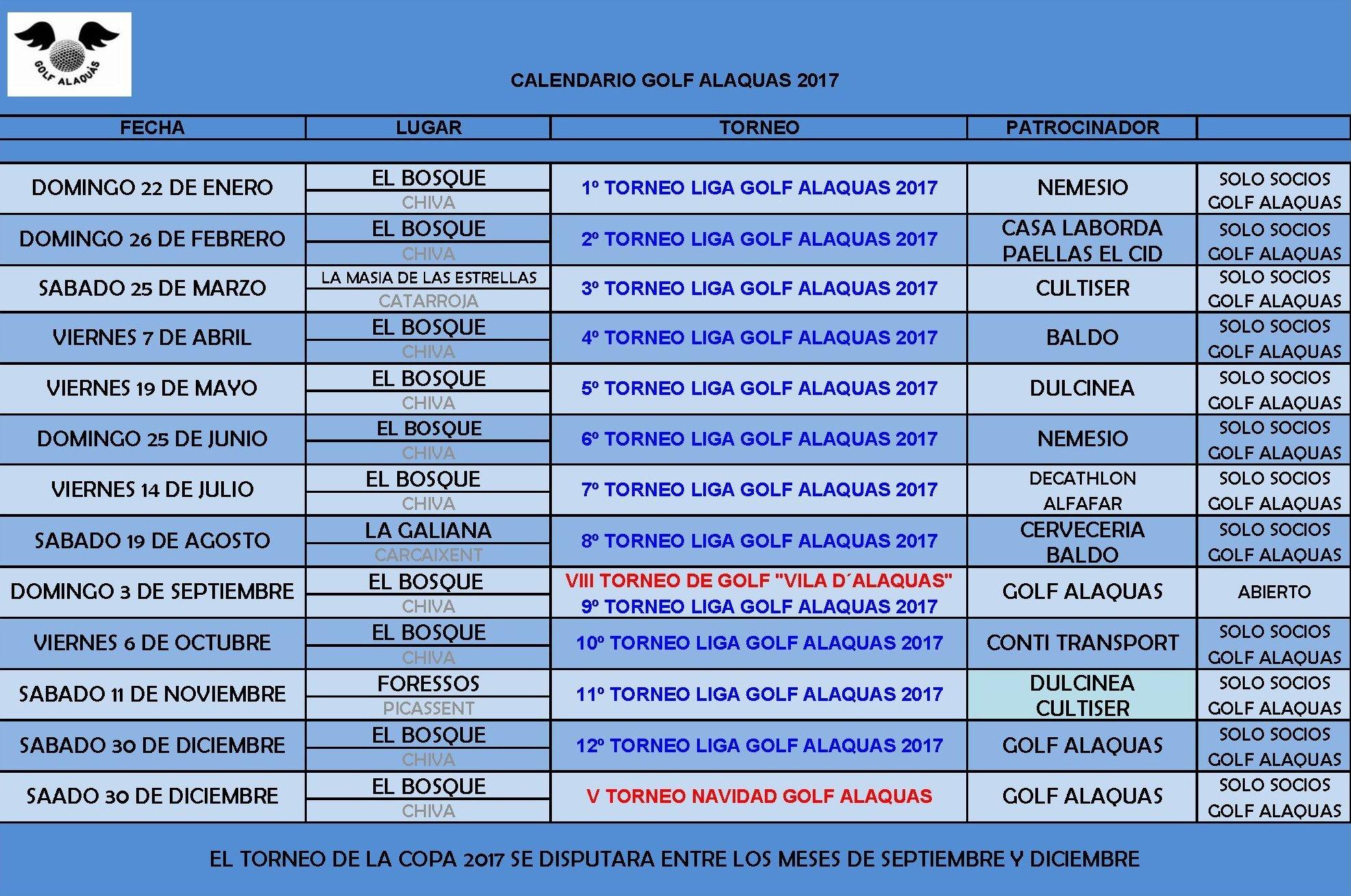 CALENDARIO_GOLF_ALAQUAS_2017