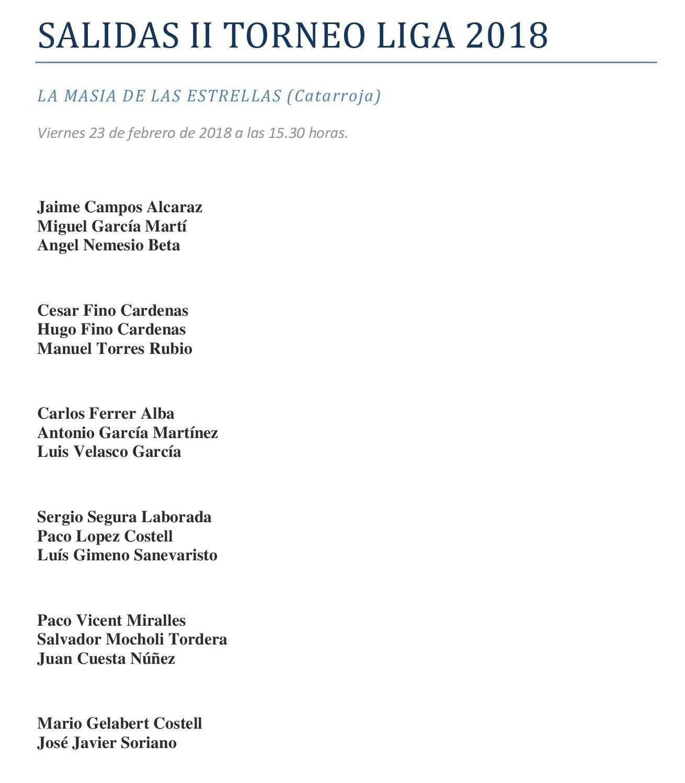 SALIDAS_II_TORNEO_LIGA_2018