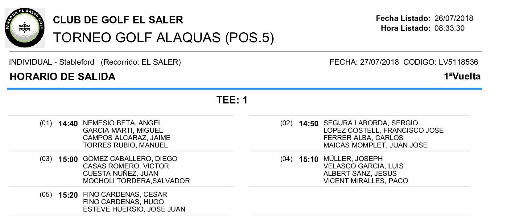 Horario de salidas Torneo Alaquas 27.07.18_18