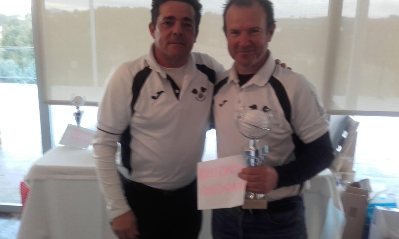 Ildelfonso Coronado tercer clasificado Liga 2018