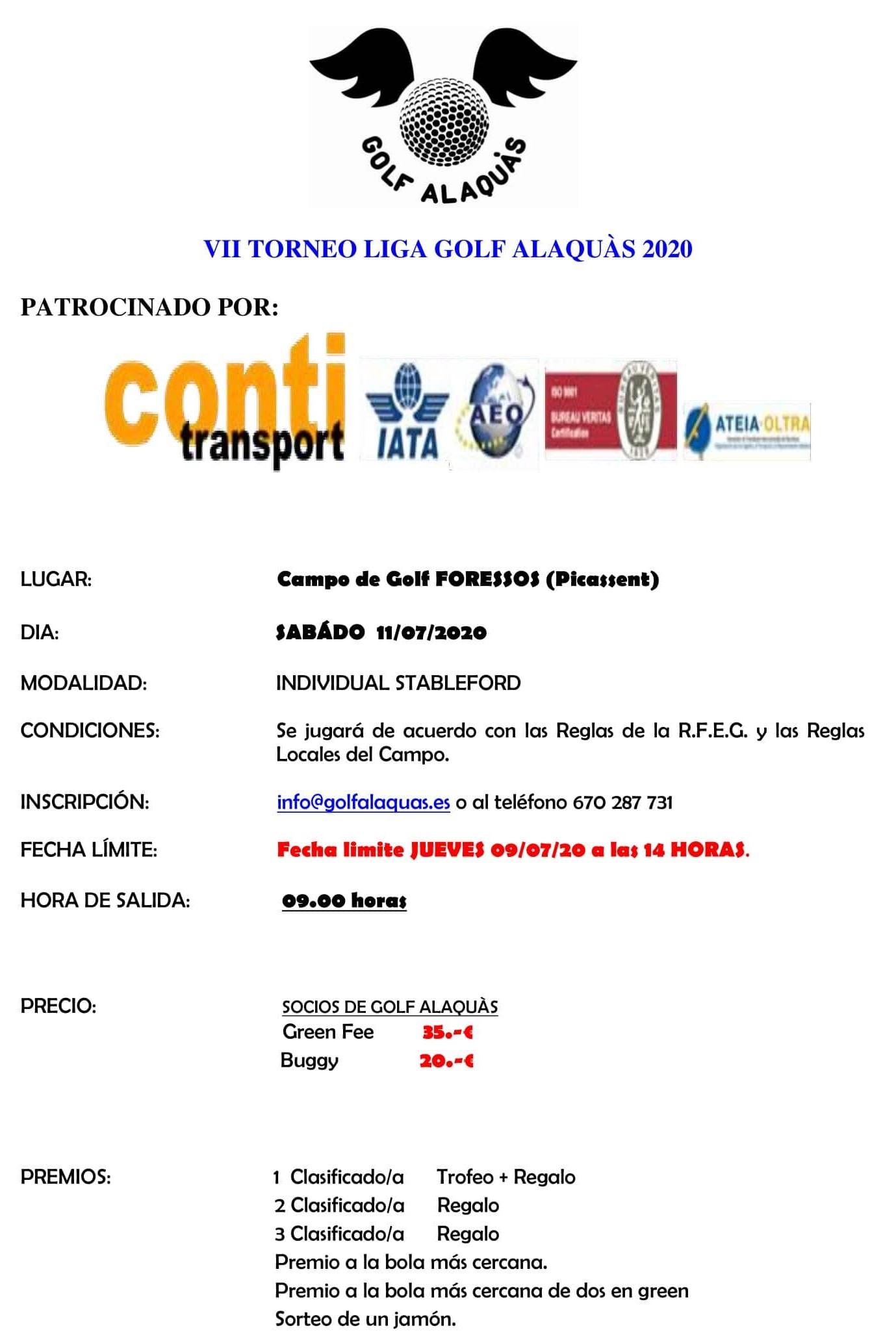 INFO VII TORNEO 2020 11-07-20